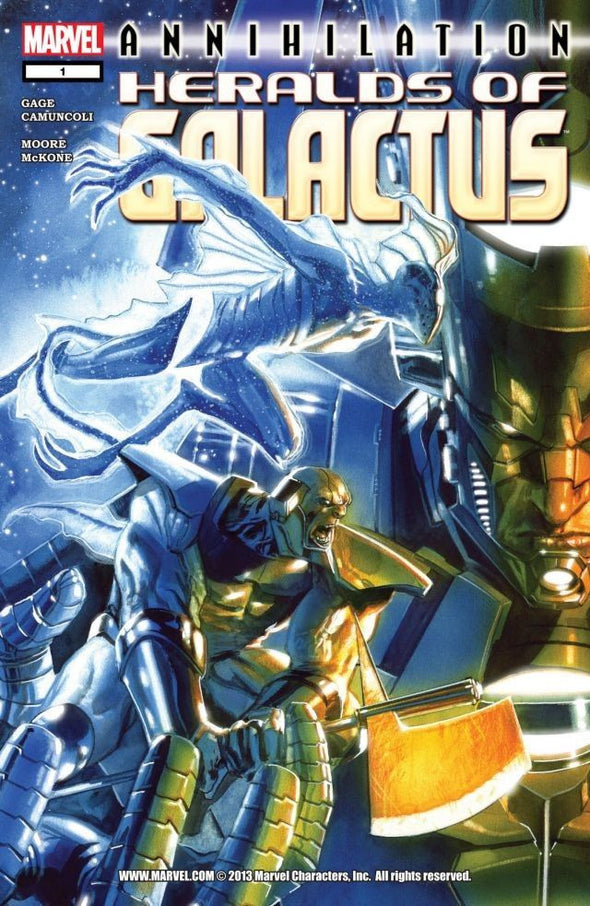 Annihilation: Heralds of Galactus (2007) #01
