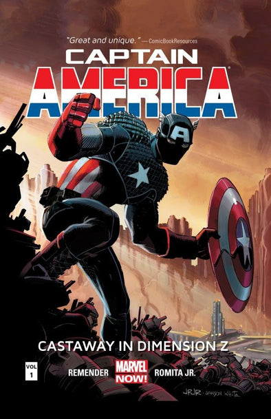 Captain America (2012) TP Vol. 01: Castaway In Dimension Z Book 1