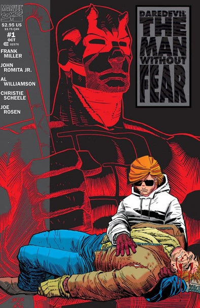 Daredevil The Man Without Fear (1993) #01 (of 5)
