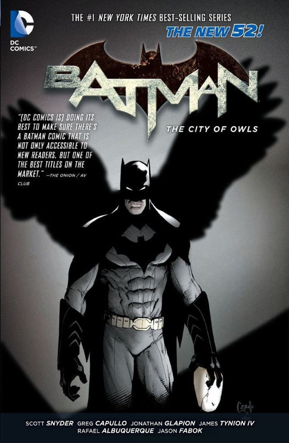 Batman (2011) TP Vol. 02: The City of Owls