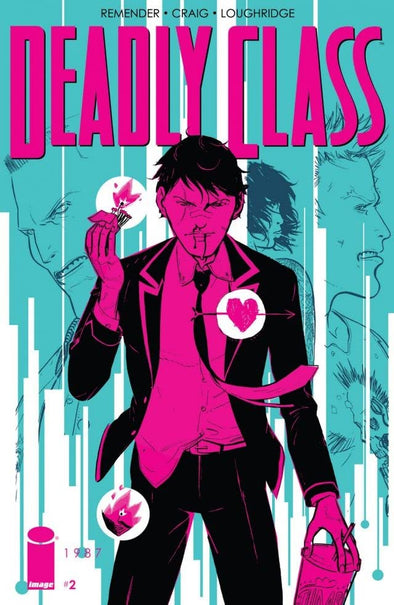 Deadly Class (2014) #02 (Second Printing)