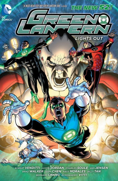 Green Lantern (2011) TP: Light Out