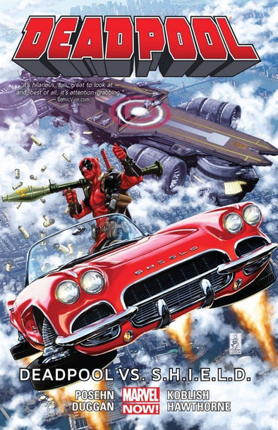Deadpool (2012) TP Vol. 04: Deadpool vs. S.H.I.E.L.D.