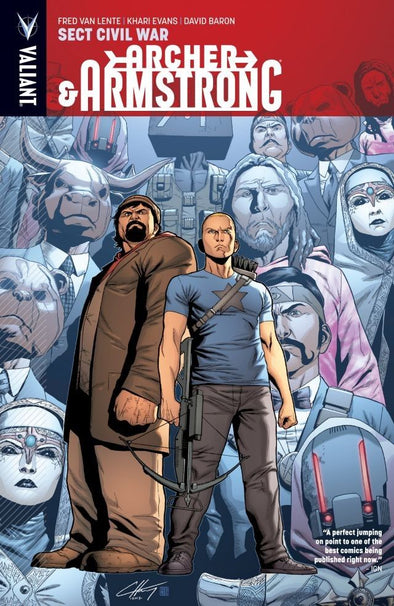 Archer & Armstrong TP Vol. 04: Sect Civil War