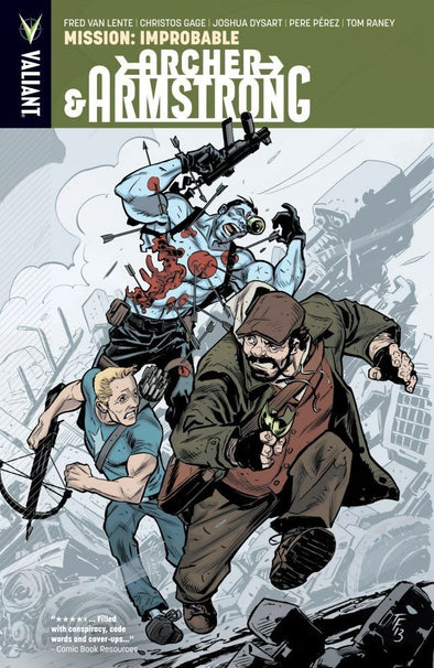 Archer & Armstrong TP Vol. 05: Mission: Improbable