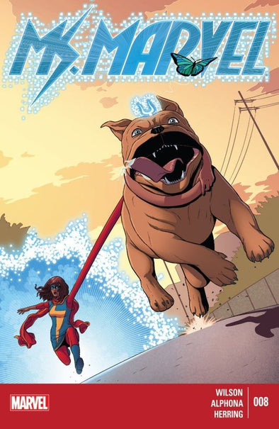Ms. Marvel (2014) #08