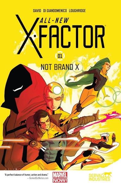 All-New X-Factor TP Vol. 01: Not Brand X