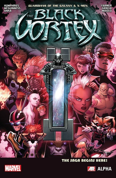 Guardians of the Galaxy & X-Men: The Black Vortex Alpha #01