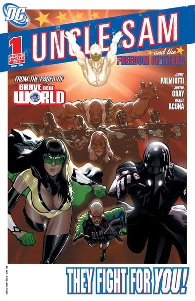 Uncle Sam and the Freedom Fighters (2006) #01