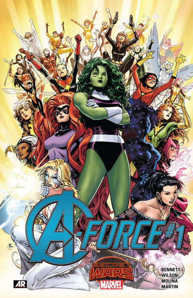 A-Force (2015) #01