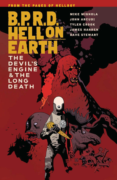B.P.R.D.: Hell on Earth TP Vol. 04: The Devil's Engine & The Long Death