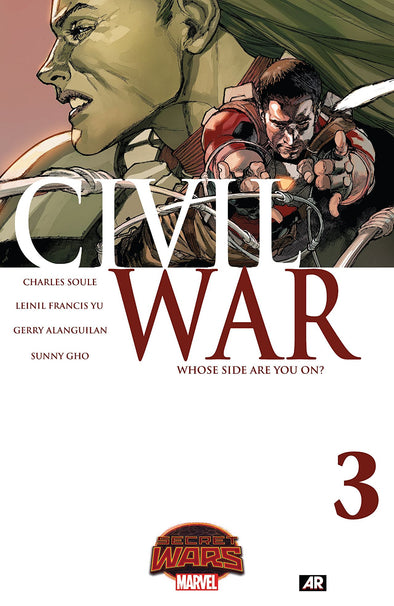 Civil War (2015) #03