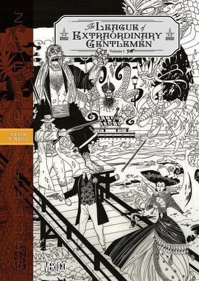 League of Extraordinary Gentlemen Gallery ED HC Vol. 01