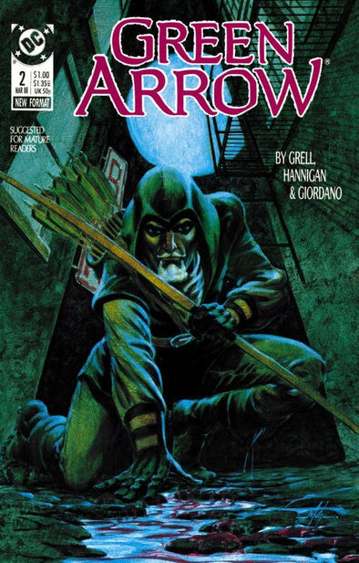 Green Arrow (1988) #002
