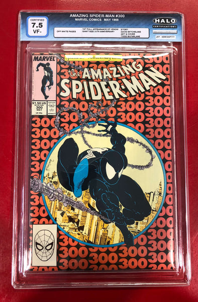 Amazing Spider-Man (1963) #300 (HALO 7.5 Graded)