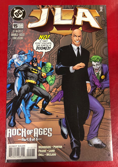 JLA (1997) #015 (Signed by Grant Morrison)