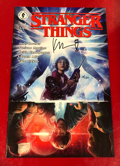 Stranger Things (2018) #01 (DF Signed by Keith Champagne)