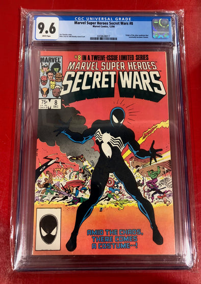Marvel Super Heroes Secret Wars (1985) #08 (CGC 9.6 Graded)