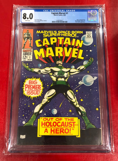 Captain Marvel (1968) #01 (CGC 8.0 Graded)
