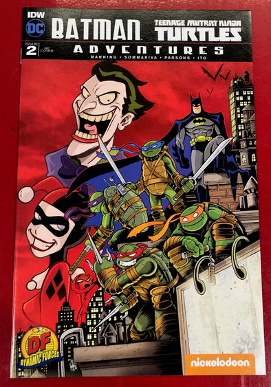 Batman/Teenage Mutant Ninja Turtles Adventures (2016) #02 (DF EX Variant)