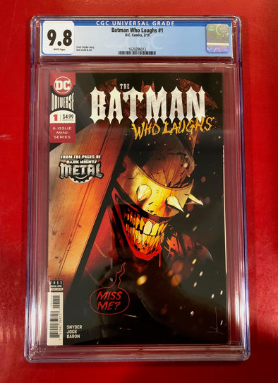 Batman Who Laughs (2018) #01 (CGC 9.8 Graded)