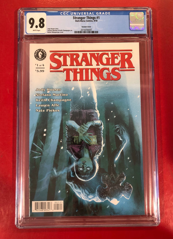 Stranger Things (2018) #01 (CGC 9.8 Graded)