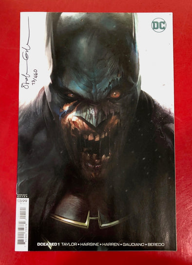 DCeased (2019) #01 (of 6) (DF Signed by Stefano Gaudiano + COA)