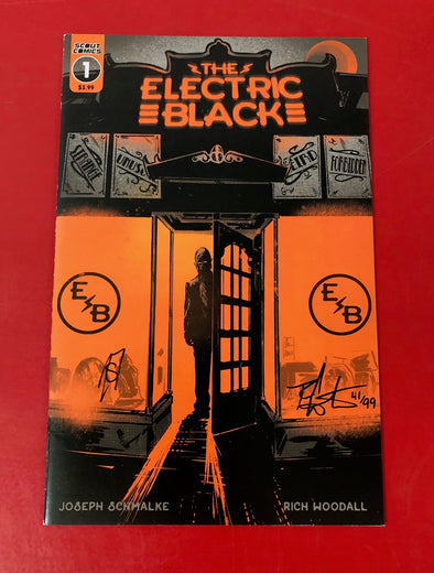 Electric Black (2019) #01 (DF Signed by Joseph Schmalke & Rich Woodall)
