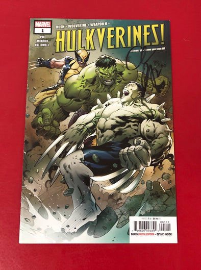 Hulkverines (2019) #01 (DF Signed By Grek Pak)