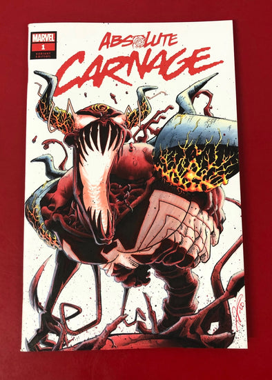 Absolute Carnage (2019) #01 (Theo Maniatis Sketch Variant)