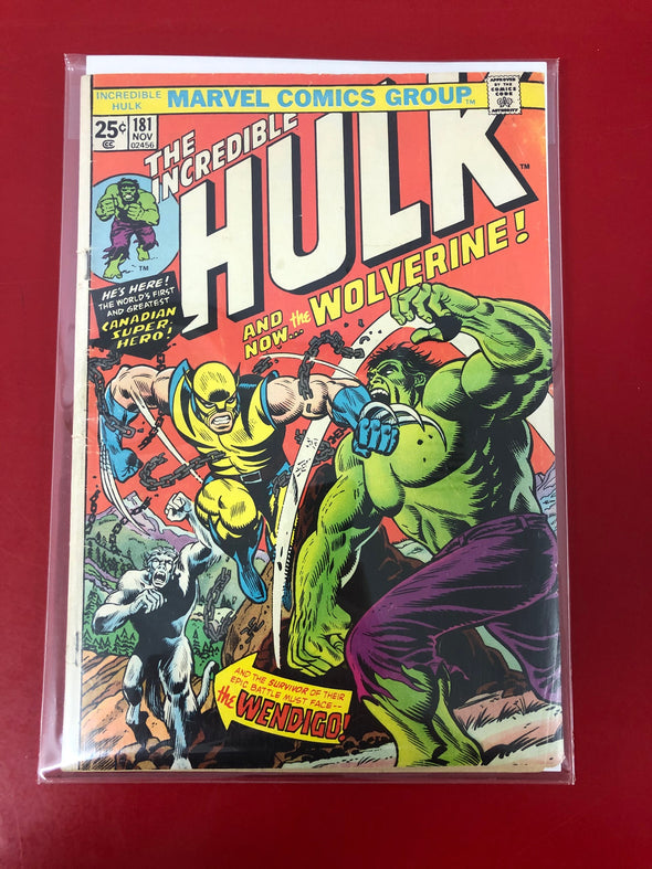 Incredible Hulk (1962) #181 (4.0)