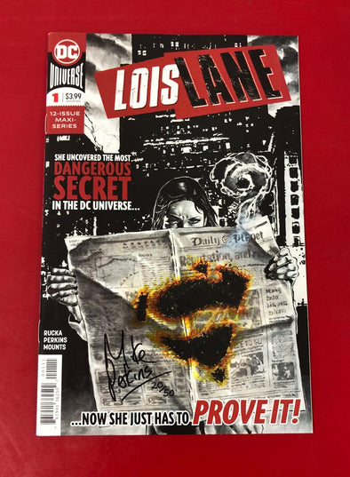 Lois Lane (2019) #01 (of 12) (DF Signed by Mike Perkins + COA)