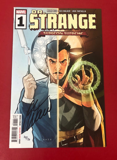 Dr. Strange (2019) #01 (DF Signed by Mark Waid + COA)