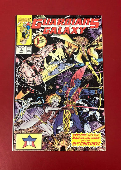 Guardians of the Galaxy (1990) #01 (Signed by Jim Valentino)