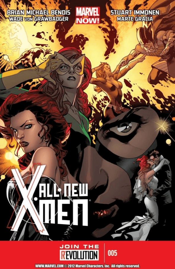 All-New X-Men (2012) #05 (2nd Printing)