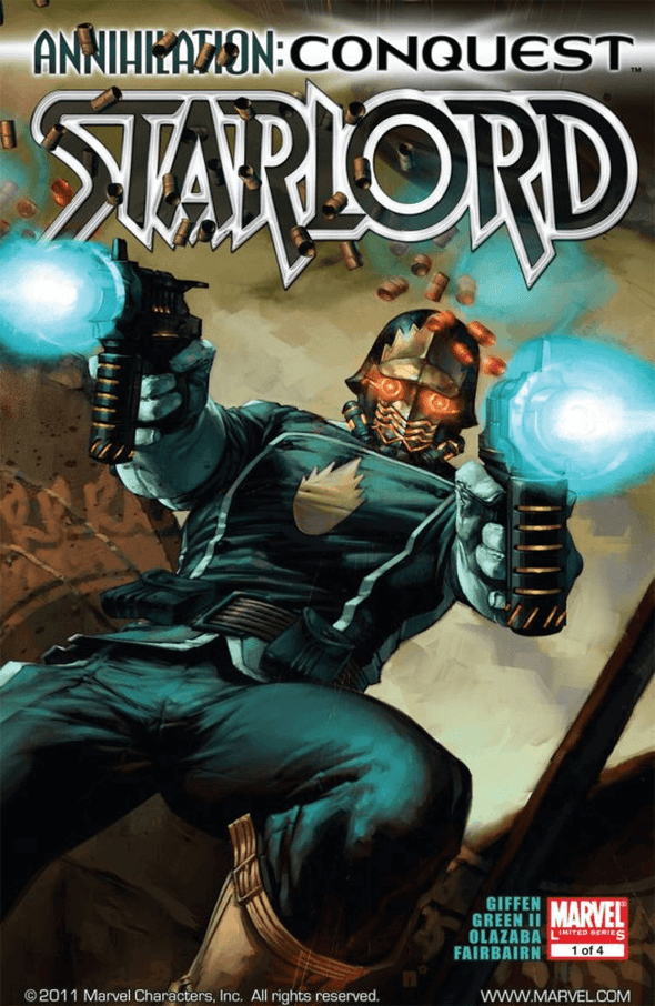 Annihilation: Conquest - Starlord (2007) #01