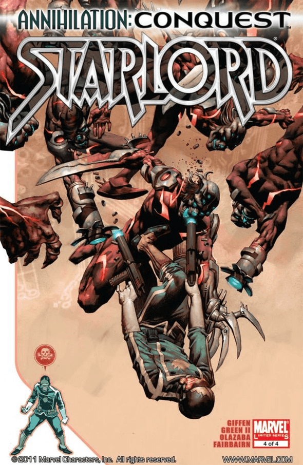 Annihilation: Conquest - Starlord (2007) #04
