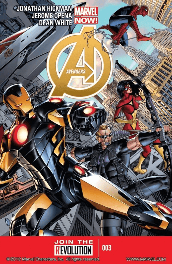 Avengers (2012) #03 (SECOND PRINTING)