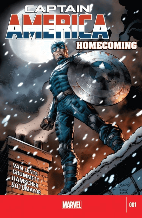 Captain America: Homecoming (2014) #01