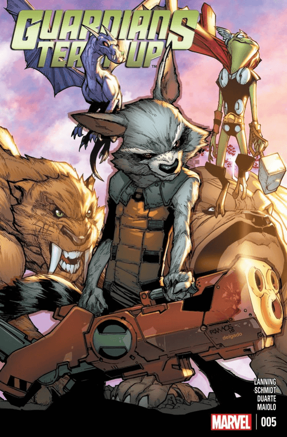 Guardians Team-Up (2015) #05