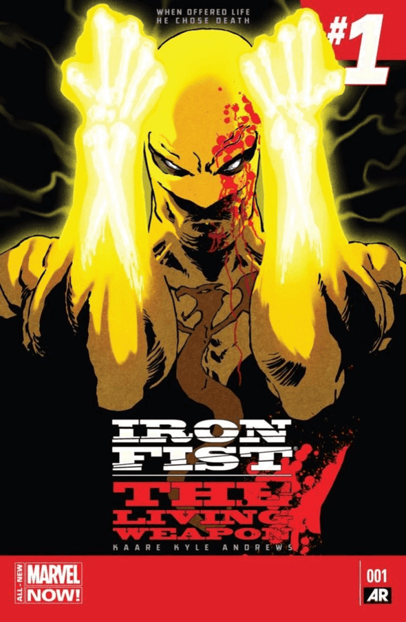 Iron Fist: The Living Weapon (2014) #01