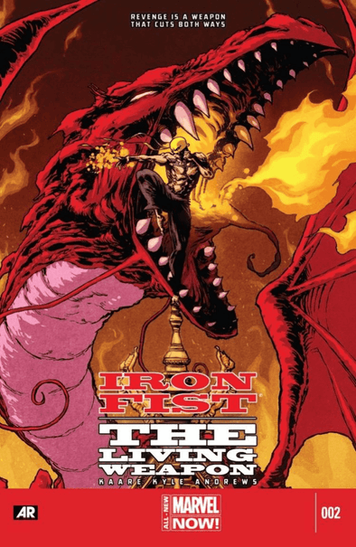 Iron Fist: The Living Weapon (2014) #02