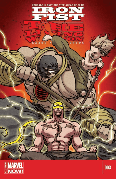Iron Fist: The Living Weapon (2014) #03