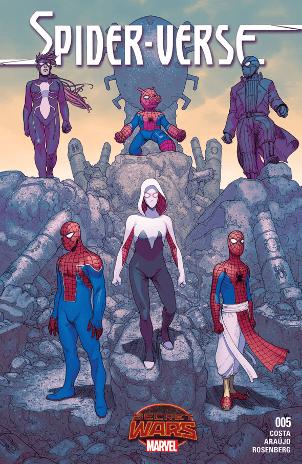 Spider-Verse: Secret Wars (2015) #05