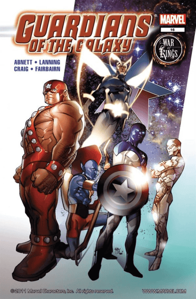 Guardians of the Galaxy (2008) #16