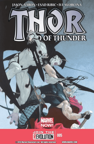 Thor God of Thunder (2012) #05 (2nd Printing)