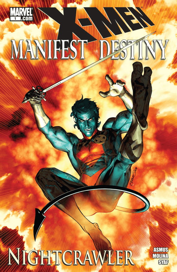 X-Men Manifest Destiny - Nightcrawler (2009) #01