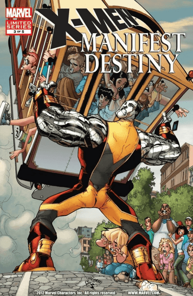 X-Men Manifest Destiny (2008) #03