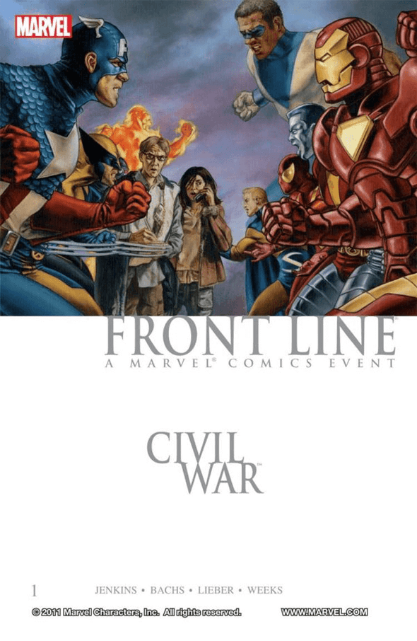 Civil War Front Line TP Vol. 01