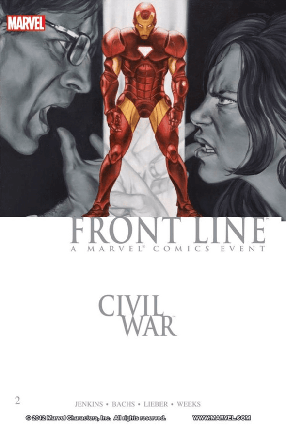 Civil War Front Line TP Vol. 02
